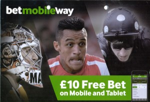 Betway Sports Flyer Front