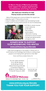Winter Campaign Flyer Back