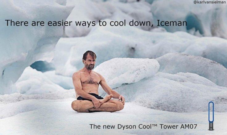 dyson iceman ad