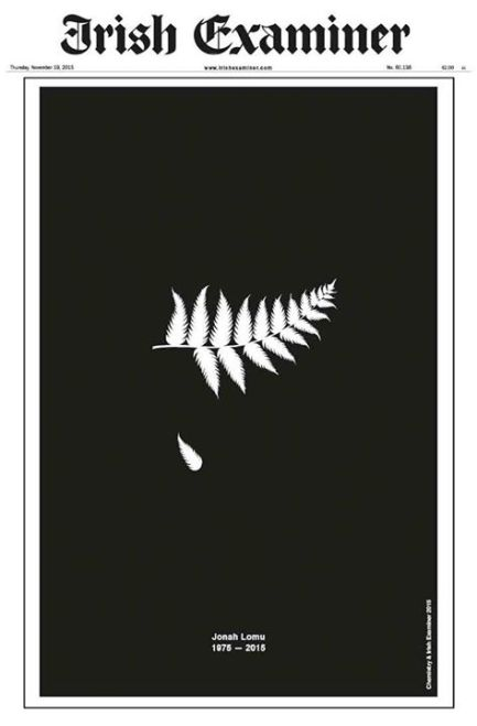 jonah lomu RIP, Irish Examiner