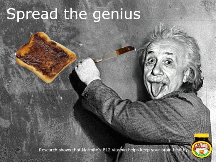 Marmite Einstein